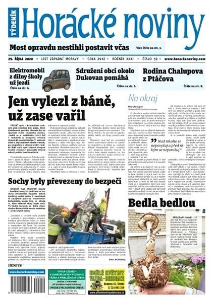 Horácké noviny - Čtvrtek 29.10.2020 č. 059 - Elektronické noviny