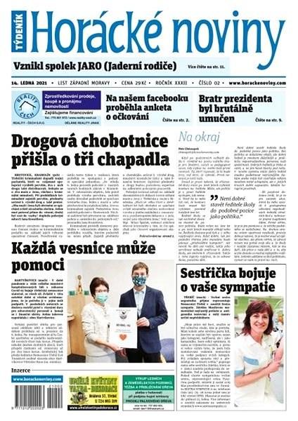 Horácké noviny - Čtvrtek 14.1.2021 č. 002 - Elektronické noviny