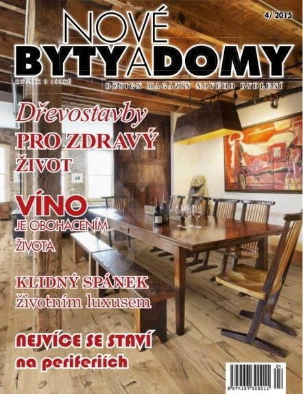 Nové BYTY A DOMY - 4/2015 - Elektronický časopis