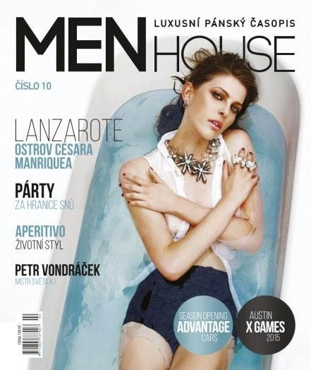 Menhouse - Luxusní časopis - Menhouse č. 10 - Elektronický časopis