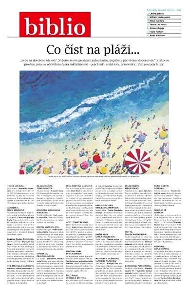 Biblio - 7/2016 - Elektronický časopis