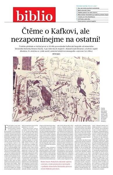 Biblio - 2/2017 - Elektronický časopis