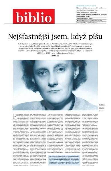 Biblio - 4/2017 - Elektronický časopis