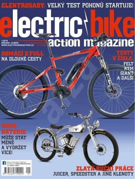 Electric Bike Action - 1/2016 - Elektronický časopis