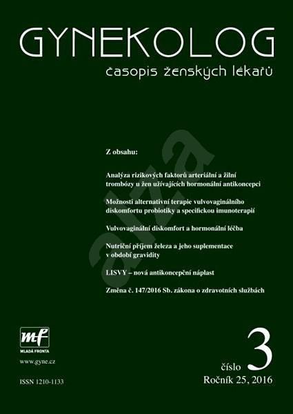 Gynekolog - 3/2016 - Elektronický časopis