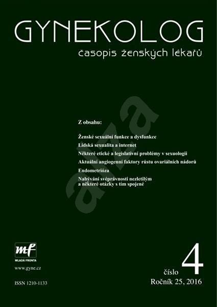 Gynekolog - 4/2016 - Elektronický časopis