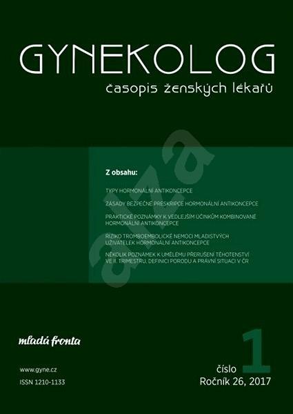 Gynekolog - 1/2017 - Elektronický časopis