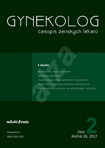Gynekolog - 2/2017 - Elektronický časopis