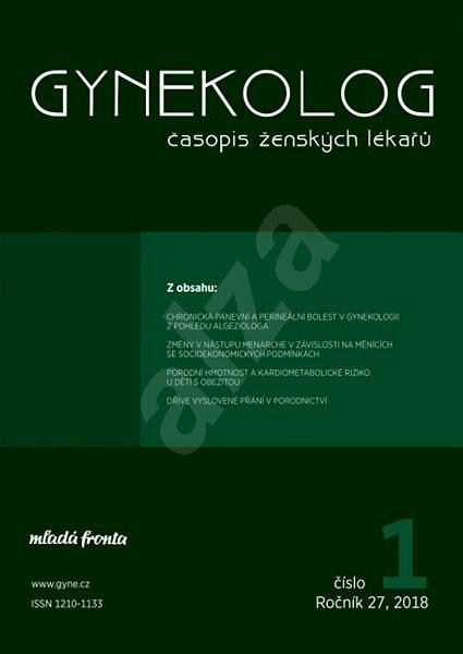 Gynekolog - 1/2018 - Elektronický časopis