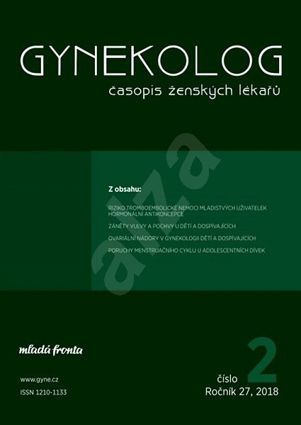 Gynekolog - 2/2018 - Elektronický časopis