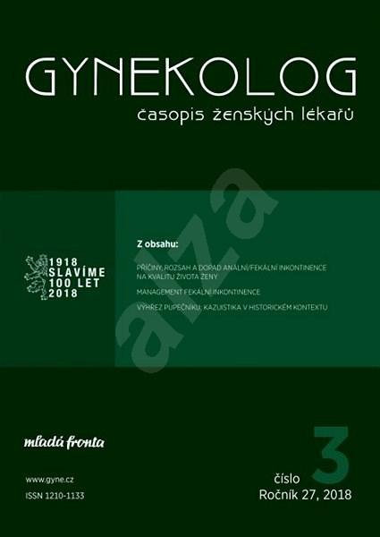 Gynekolog - 3/2018 - Elektronický časopis