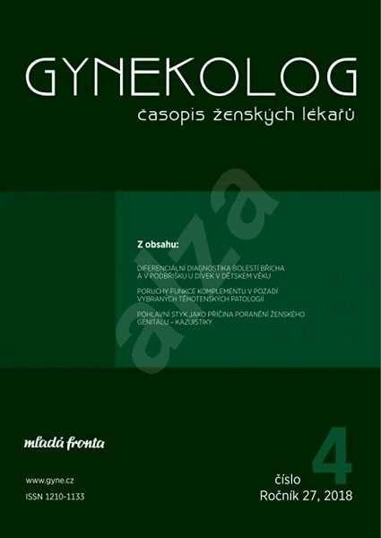 Gynekolog - 4/2018 - Elektronický časopis