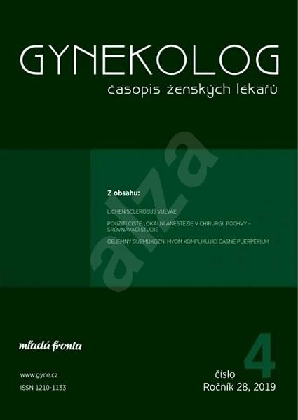 Gynekolog - 4/2019 - Elektronický časopis