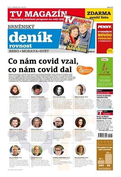 Brněnský deník - 04.12.2020 - Elektronické noviny