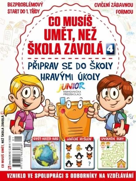 Knihovnička Junior Předškoláci - 1/20 - Elektronický časopis