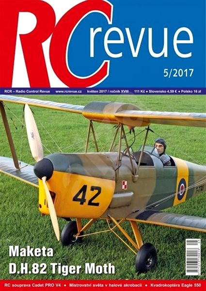 RC Revue - 5/2017 - Elektronický časopis