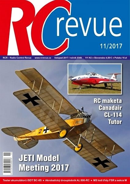 RC Revue - 11/2017 - Elektronický časopis