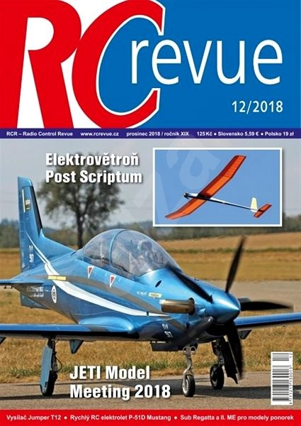 RC Revue - 12/2018 - Elektronický časopis