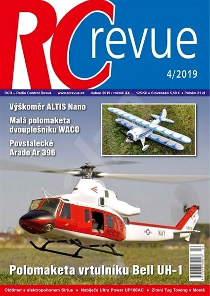 RC Revue - 4/2019 - Elektronický časopis