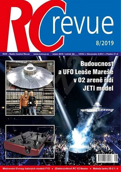 RC Revue - 8/2019 - Elektronický časopis