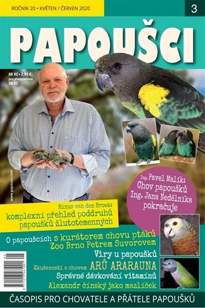 Papoušci - 3/2020 - Elektronický časopis