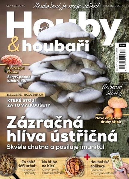 Houby & houbaři - 12/2017 - Elektronický časopis