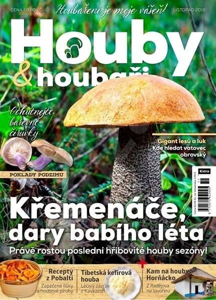 Houby & houbaři - 11/2018 - Elektronický časopis