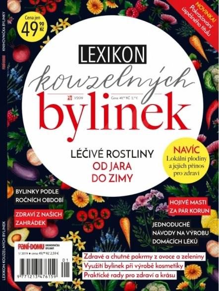 Knihovnička Paní domu - Bylinky - 1/19 - Elektronický časopis