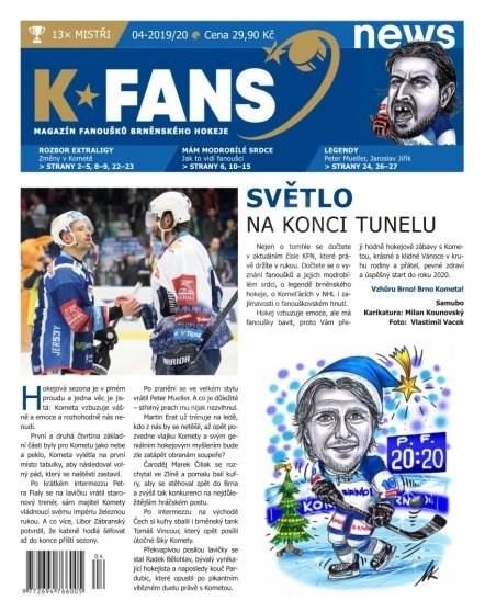 K FANS news - 04-2019/20 - Elektronický časopis