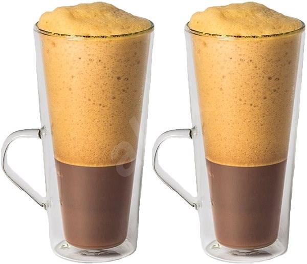Maxxo Termosklenice na kávu Frappé 320ml 2ks - Termosklenice