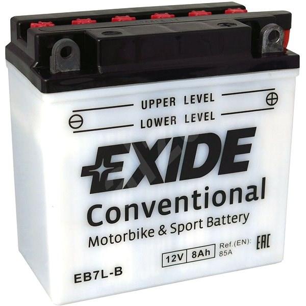 EXIDE BIKE Conventional 8Ah, 12V, YB7L-B / 12N7-3B - Motobaterie