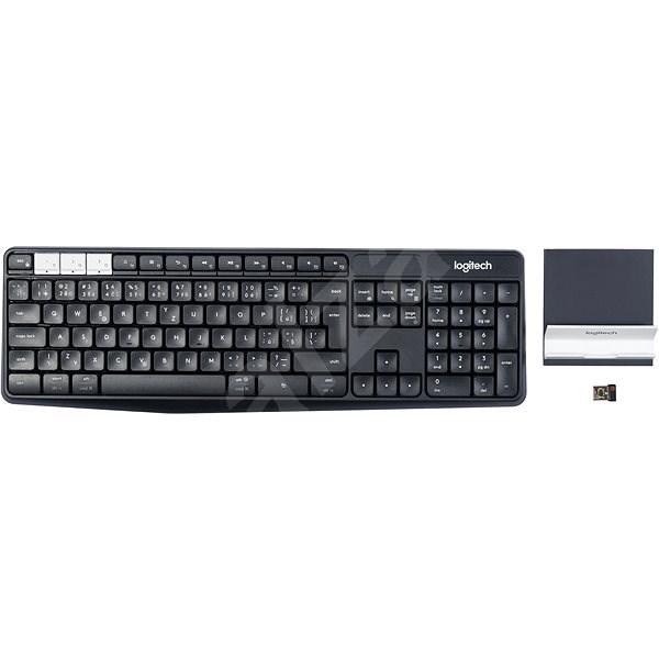 Logitech Wireless Keyboard K375s CZ - Klávesnice