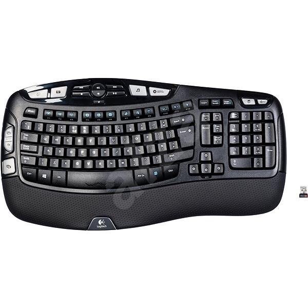 Logitech Wireless Keyboard K350 UK - Klávesnice