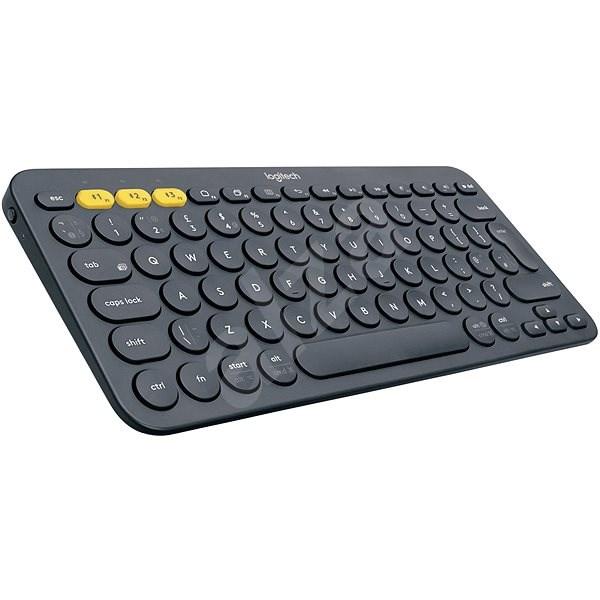 Logitech Bluetooth Multi-Device Keyboard K380, temně šedá - Klávesnice