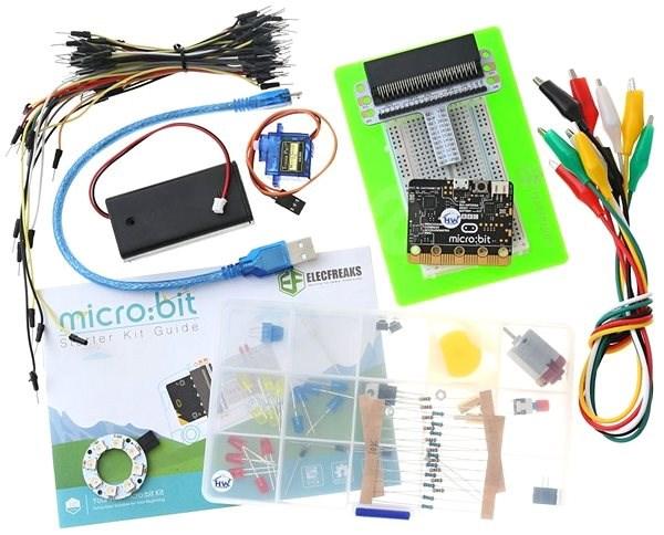 BBC micro:bit Starter kit - Programovatelná stavebnice
