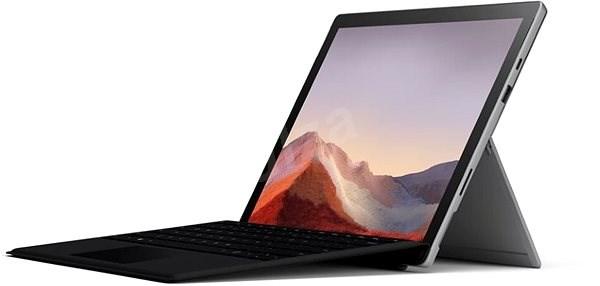 Microsoft Surface Pro 7 128GB i3 4GB platinum + EN/US klávesnice v balení (černá) - Tablet PC