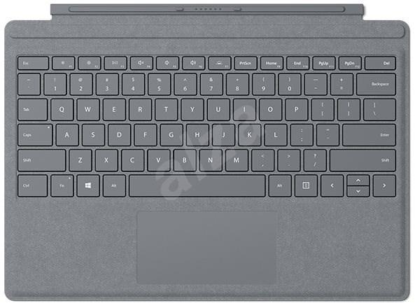 Microsoft Surface Pro Type Cover Platinum CZ/SK - Klávesnice
