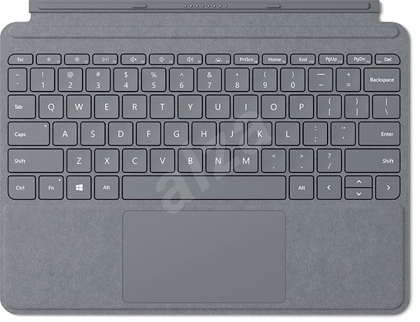 Microsoft Surface Go Type Cover Platinum - Klávesnice