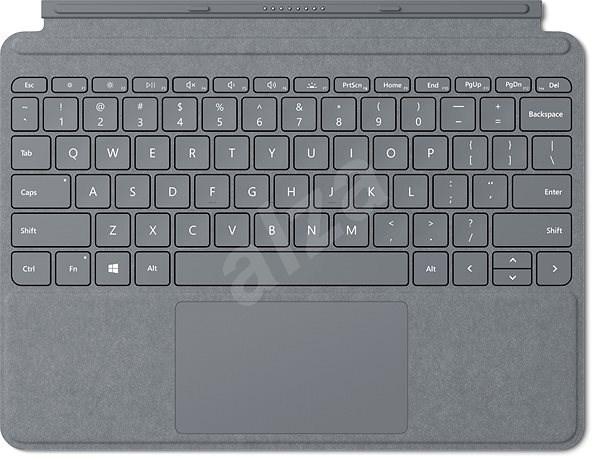 Microsoft Surface Go Type Cover Platinum CZ/SK - Klávesnice