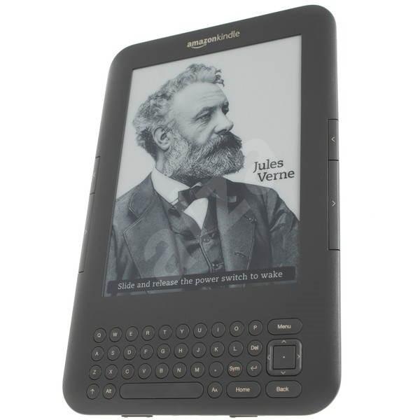 Amazon Kindle 3 - Elektronická čtečka knih