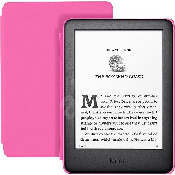 Amazon New Kindle 2020 s růžovým krytem - Elektronická čtečka knih