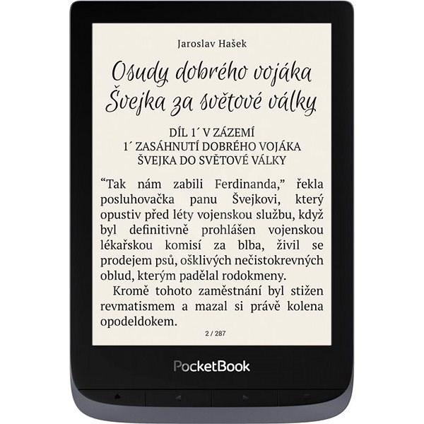 PocketBook 632 Touch HD 3 Metallic Grey - Elektronická čtečka knih