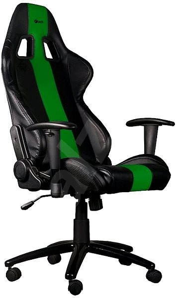 C-TECH PHOBOS černo-zelená - Herní židle