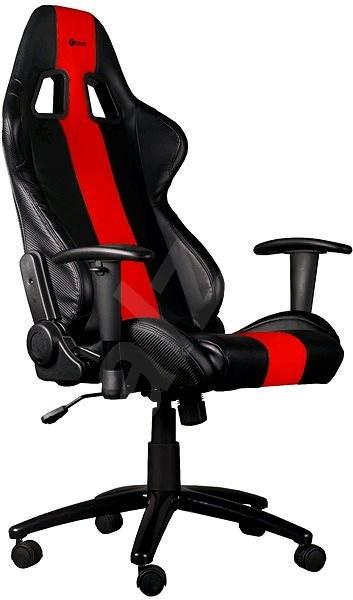 C-TECH PHOBOS černo-červená - Herní židle