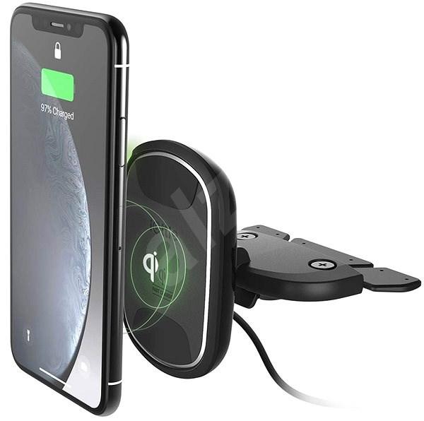 iOttie iTap Wireless 2 Fast Charging Magnetic CD Mount - Držák na mobilní telefon