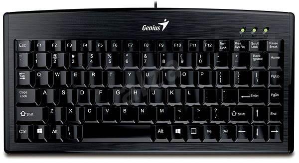 Genius LuxeMate 100 CZ+SK, černá - Klávesnice
