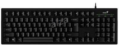 GENIUS Smart KB-101 USB černá/hliníková - Klávesnice