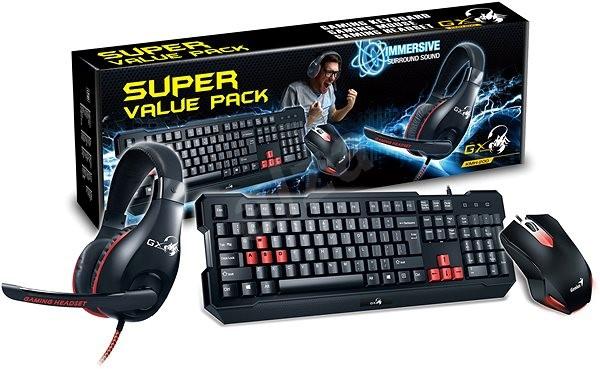 Genius GX Gaming KMH-200 - Set klávesnice a myši