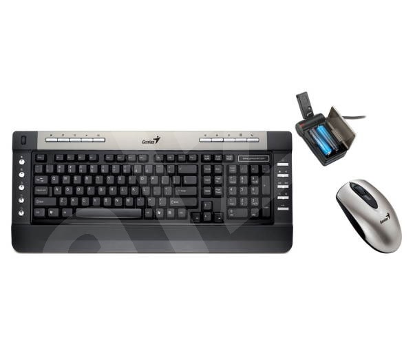 Genius wireless SlimStar R610 - Set klávesnice a myši