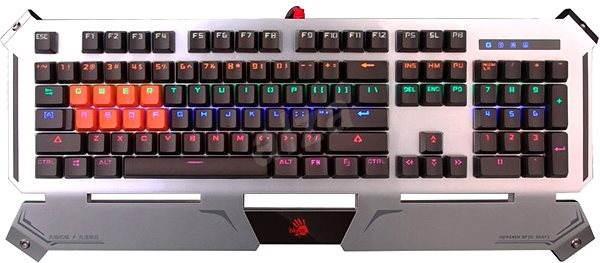A4tech Bloody B740A CZ - Herní klávesnice